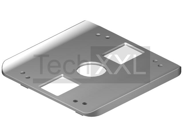 Radius seal 8 40x40 grey compatible to Item 0.0.480.01