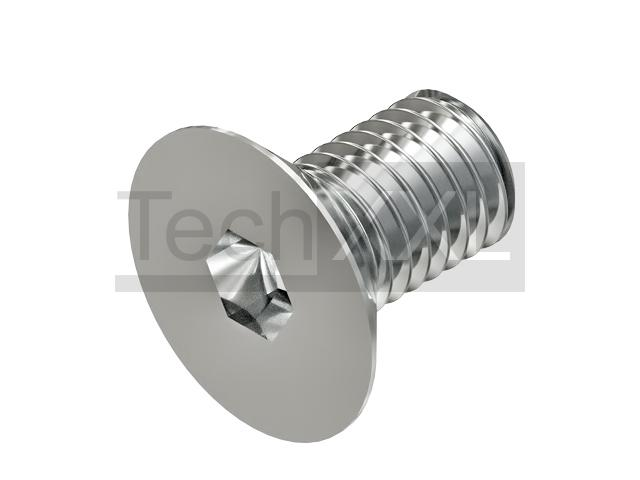 Countersunk screw for angle bracket groove8 M8x14 stainless